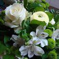 détail bouquet blanc