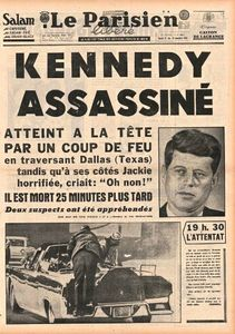 Le Parisien - Kennedy