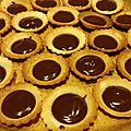 Mini-tartelettes au carambar :