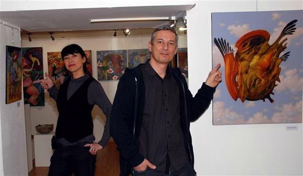 ATEK & CHARLES samedi 7 mars 2015 Galerie Tetdelart Forbach