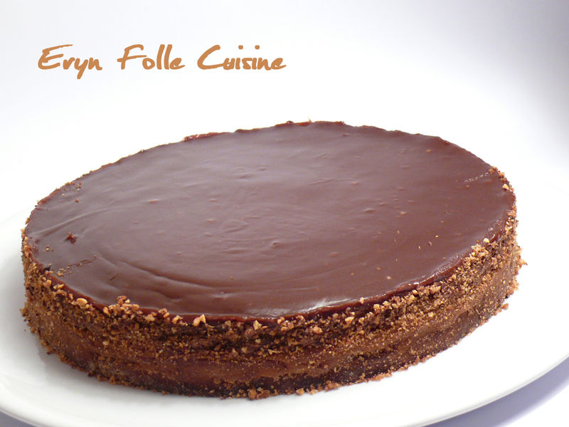 le dynamite ( gâteau caramel & chocolat ) - eryn et sa folle cuisine