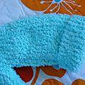 Gilet bebe turquoise 5