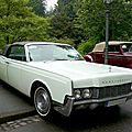 Lincoln continental 2door convertible 1967