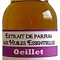 Extrait de parfum oeillet - perfume extract carnation