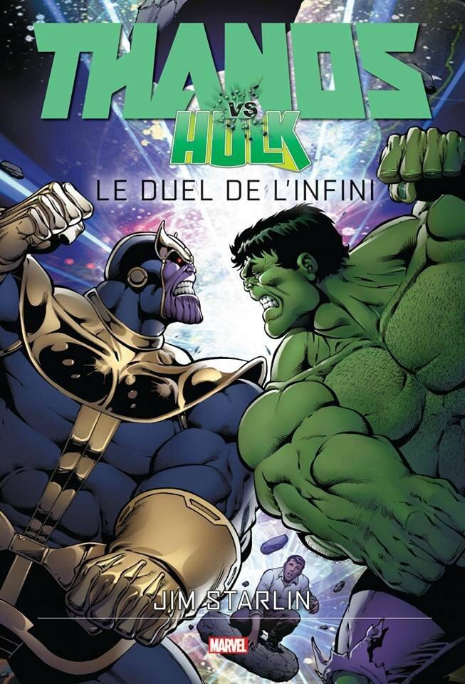 graphic novel thanos vs hulk le duel de l'infini