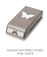 elegant butterfly punch