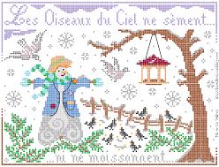 Visuel Oiseaux du Ciel Hiver