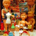 Petites poupées vintage