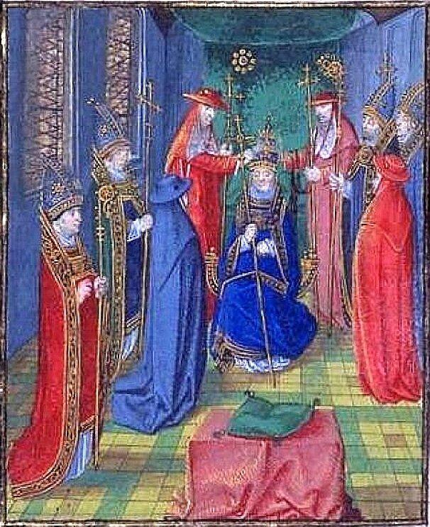 Couronnement_de_Benoît_XIII