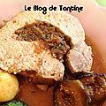 Rôti de porc aux deux figues