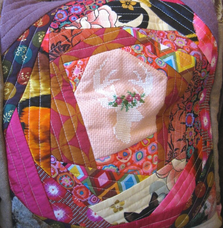 sac hiver blooming quilt