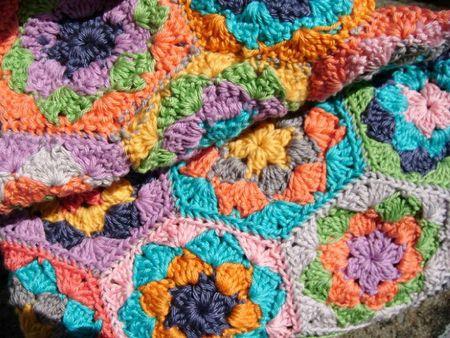 pochette hexagones crochet 003