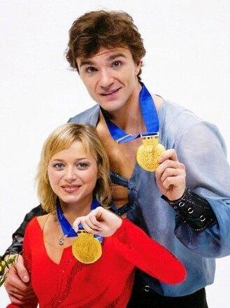 Yelena Berezhnaya & Anton Sikharulidze Olympic 2002 R