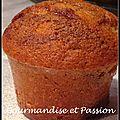 Mini muffins choco pistache