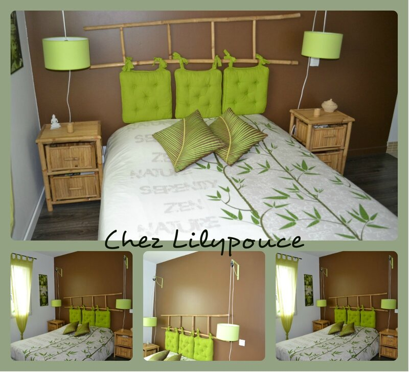 creer une t te de lit chez lilypouce. Black Bedroom Furniture Sets. Home Design Ideas