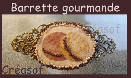 barrette gourmande