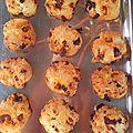 Cookies tomates séchées chorizo