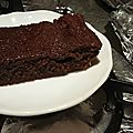 Gâteau au chocolat au lait concentré