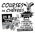 Course de chèvre le vendredi 12 août 2016 à 21 h