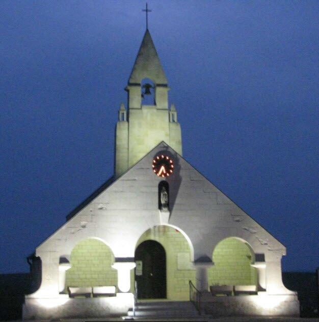 Chapelle du Souvenir à Cerny, Aisne © Christiane MENOT