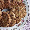 Cookies aux noisettes et pépites de chocolat (vegan)
