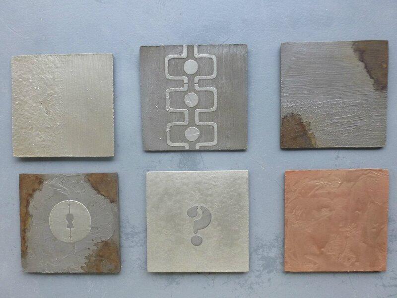 6 réalisations metalline