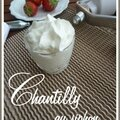 Chantilly au siphon