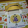nouvelle idée : le sac à tarte B@M !