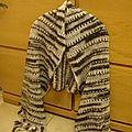 Une etole coco en tricot
