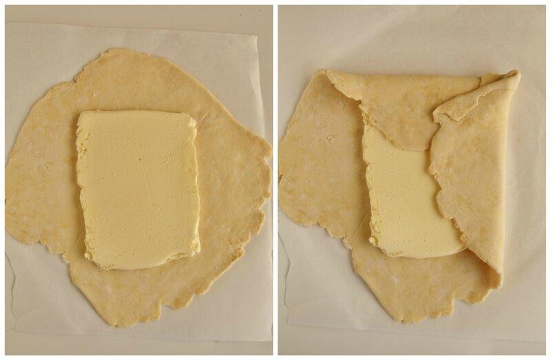 Pasta sfoglia fatta in casa - passo passo 2