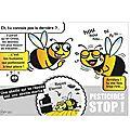 750 abeilles meurent chaque seconde en france depuis l'apparition des insecticides néonicotinoïdes. les sénateurs tueurs :