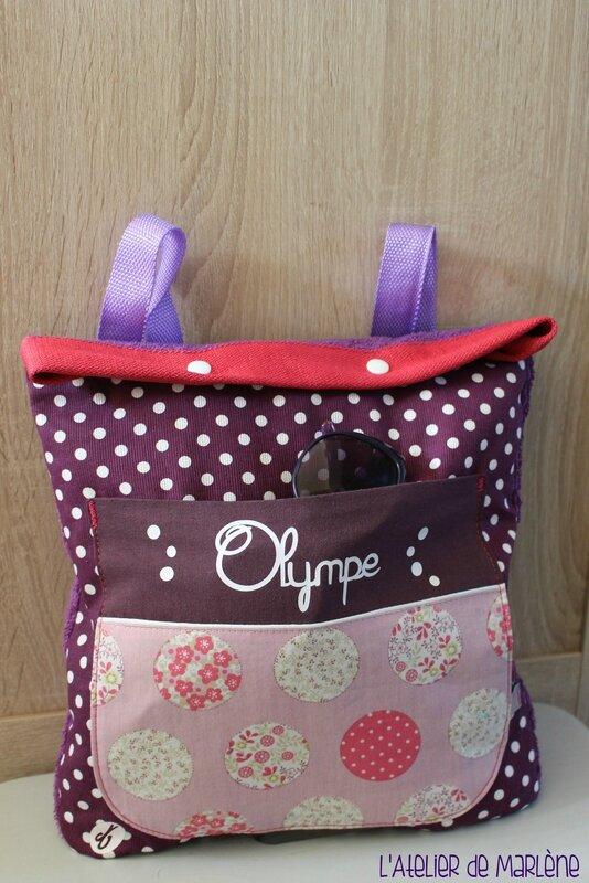 sac serviette Olympe