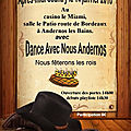Dimanche 14 janvier 2018 - bal country à andernos