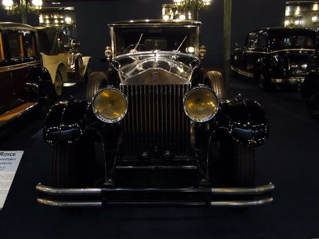 ROLLS ROYCE Limousine Phantom II 1930 Musée National de l'Automobile de Mulhouse, collection Schlumpf 1