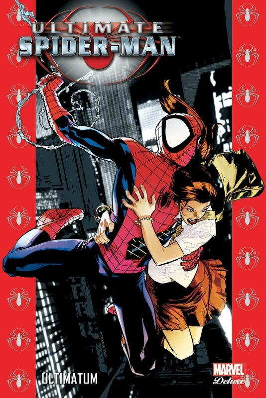 marvel deluxe ultimate spiderman 12 ultimatum