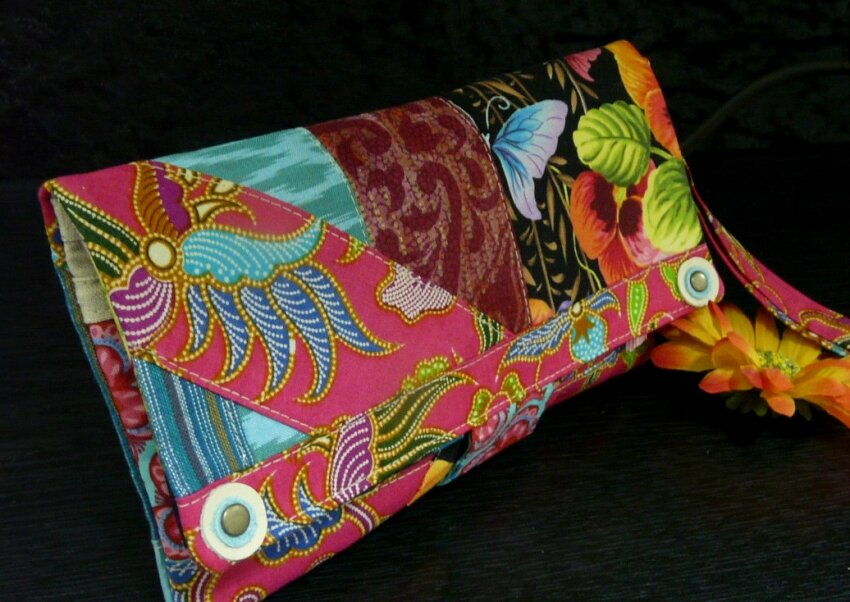 "Pochette/Mini sac ""India"""