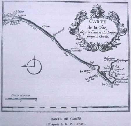 carte de Gorée