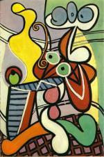 Grande nature morte au guéridon Picasso 1931