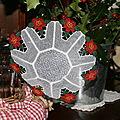 Broderies pour les fêtes de fin d'année