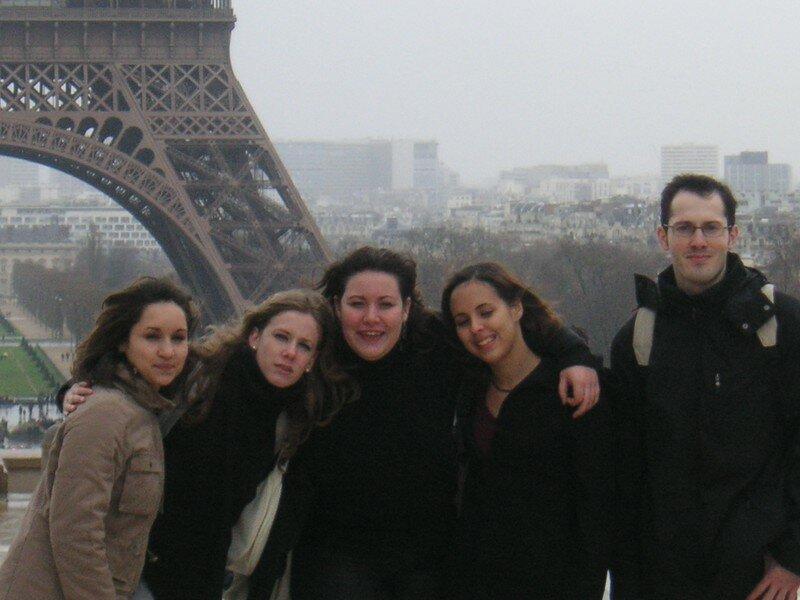 Premio Gordo, Le Sarah, Lulu et Moi devant la tour Eiffel