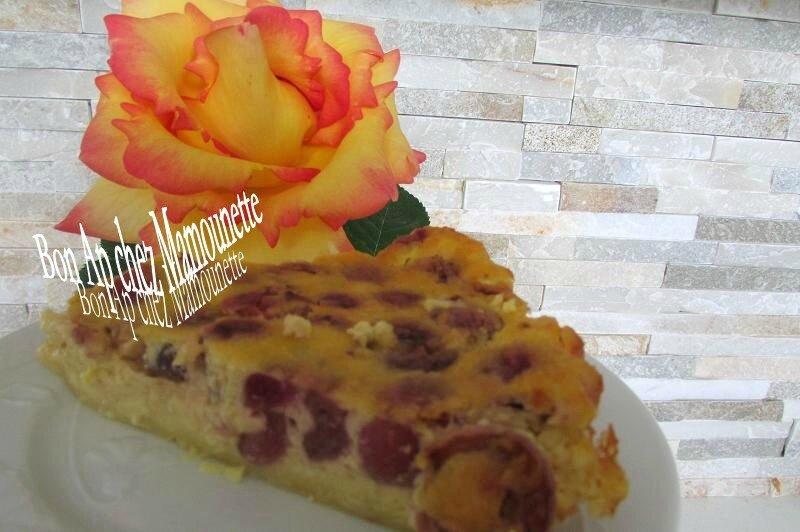 gâteau aux cerises du jardin 008