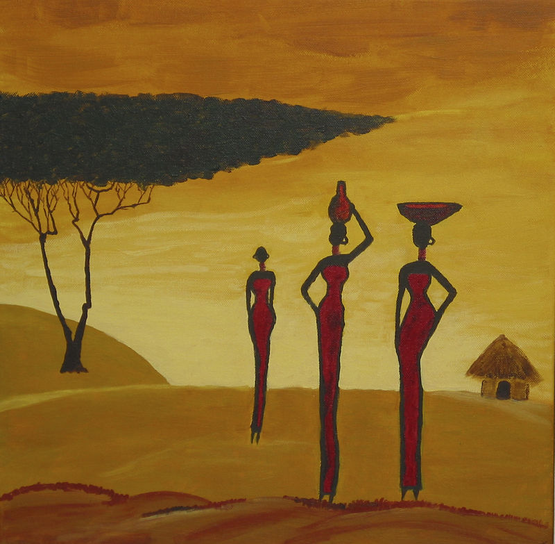 3 femmes (40 x 40)