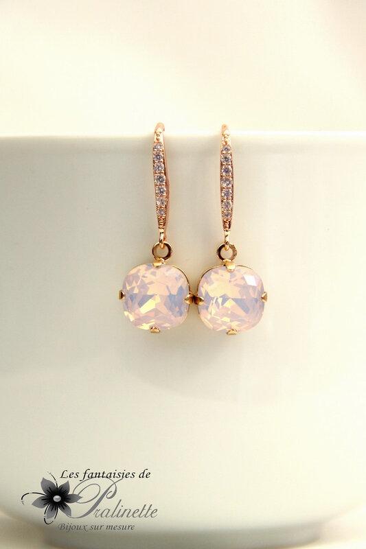 bijoux-mariage-boucles-d-oreilles-rose-gold-et-cristal-rose-opal-2