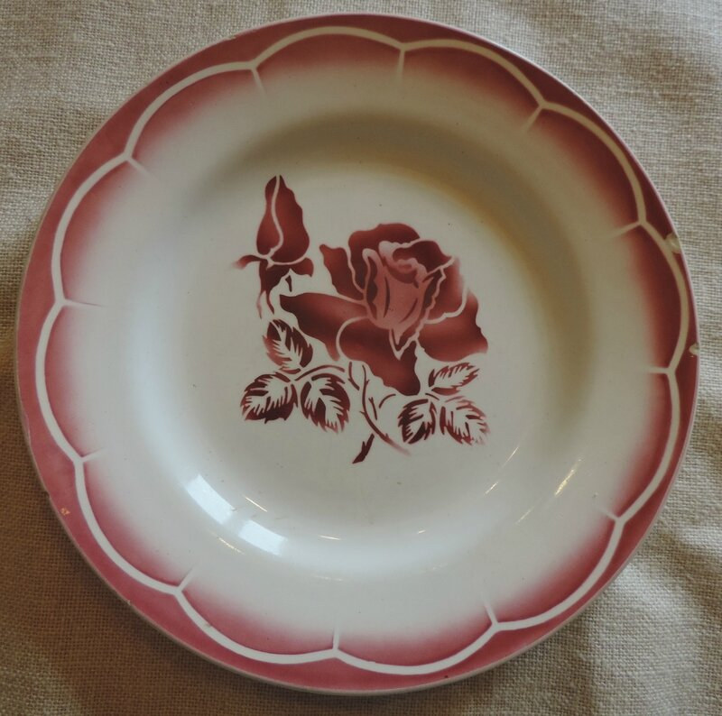 Assiette plate Orly (1)