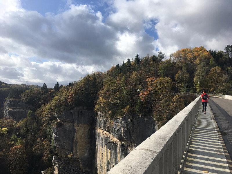 Sur le pont des Pierres