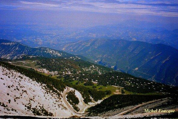 181) montée à vélo sur le Mont Ventoux