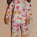 Nouveaux pyjamas pour tanya