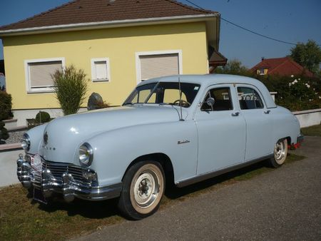 FRAZER Manhattan 4door Sedan 1948 Rustenhart (1)