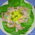 Salade de maïs aux olives