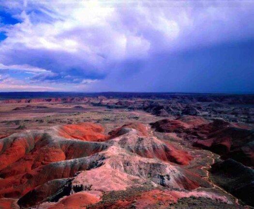 La polychrome des roches